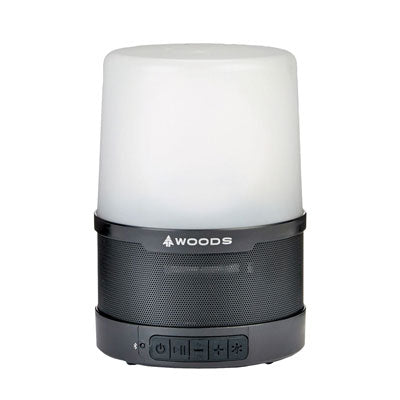 key features Woods LED Lantern With Bluetooth Speaker