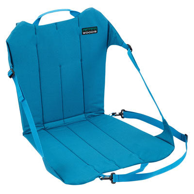 key features Woods Backpacker Folding Camping Chair - Teal