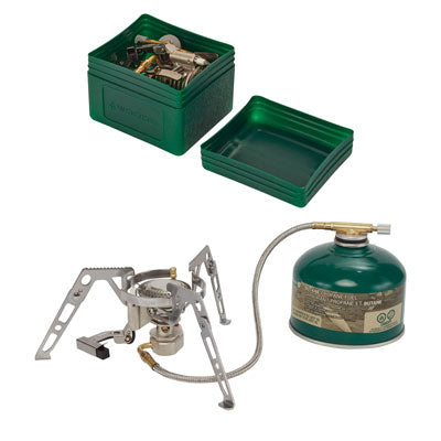 key features Woods Backpacking & Camping Stove