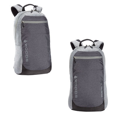 key features Woods Boundary 18L Lightweight Packable Camping Backpack / Daypack - Grey