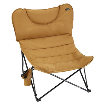 key features Woods Mammoth Folding Padded Camping Chair