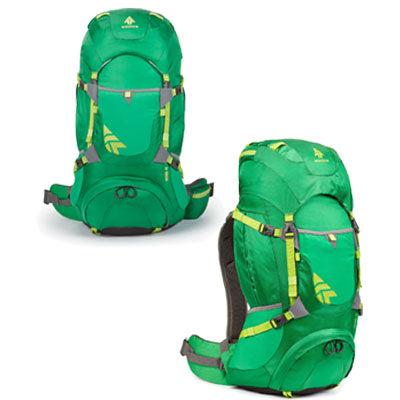 key features Woods Patrol 40L Lightweight Packable Camping Backpack / Daypack - Green