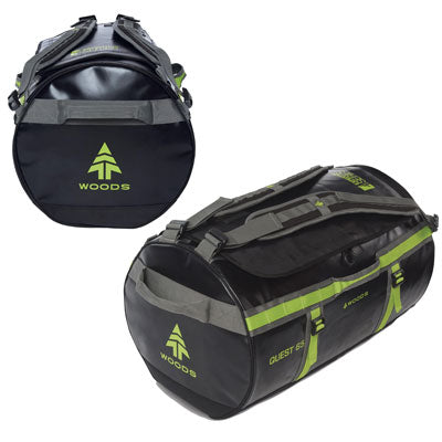 key features Woods Quest Duffel Bag 65L - Black