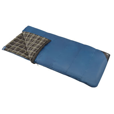 key features Woods Canmore Camping Sleeping Bag: 32 Degree