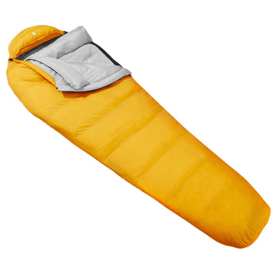 key features Woods Logan Lightweight Mummy Camping Sleeping Bag: 10 Degree Cold Weather