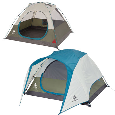 key features Woods Creekside 3-Person 3-Season Tent
