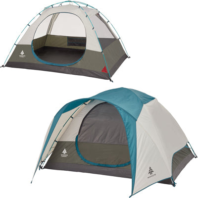 key features Woods Creekside 4-Person 3-Season Tent