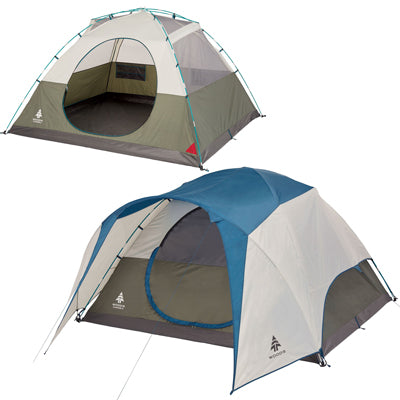 key features Woods Creekside 6-Person 3-Season Tent