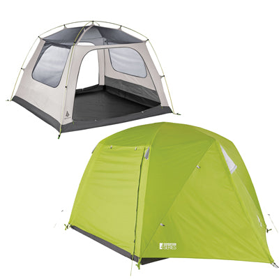 key features Woods Lookout 4-Person 3-Season Tent