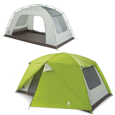 key features Woods Lookout 6-Person 3-Season Tent