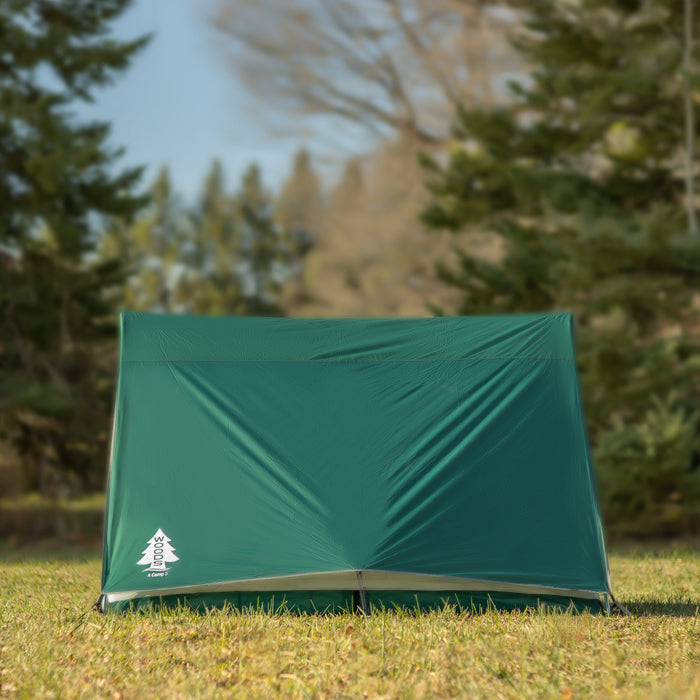 Woods A-Frame 3-Person 3-Season Tent - Green