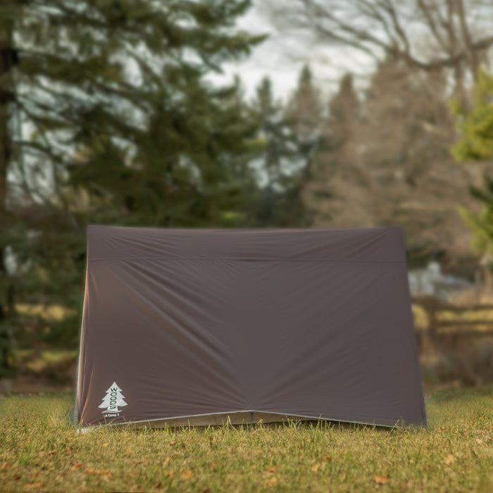 Woods A-Frame 3-Person 3-Season Tent - Brown