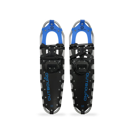 key features Outbound All-Terrain Lightweight Aluminum Frame Snowshoes 36 Inch, 265 lb Capacity