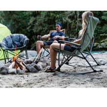Load image into Gallery viewer, Woods Kaslo Folding Camping Rocker Chair