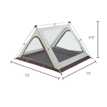 Load image into Gallery viewer, Woods A-Frame 3-Person 3-Season Tent - Brown