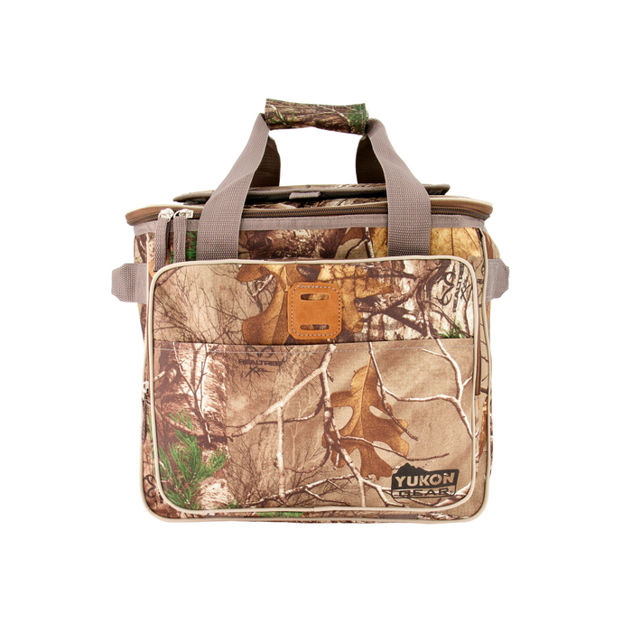 Outbound Hunting and Camping RealTree Camo Print Insulated Soft Cooler Bag - 25 Can Capacity