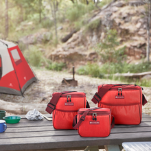 Load image into Gallery viewer, Outbound Picnic and Camping 3-Piece Insulated Soft Cooler Set - 12, 9, and 6 Can Capacity