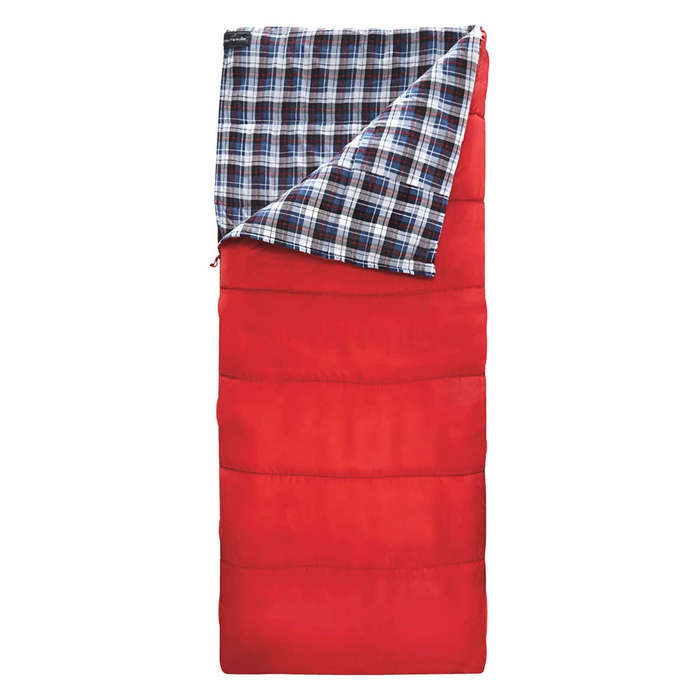 Outbound Compact Lightweight Comfort Camping Sleeping Bag: 43 Degree - Red