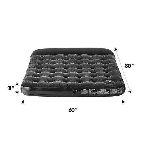 Outbound Queen Air Mattress with Built-In Foot Pump and Pillow