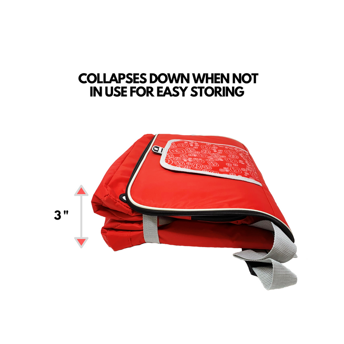 Outbound Picnic and Camping Large Collapsible Insulated Soft Cooler - 48 Can Capacity