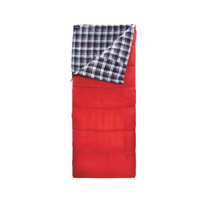 Outbound Compact Comfort Cold Weather Camping Sleeping Bag: 14 Degree - Red