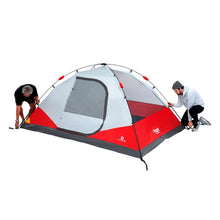Load image into Gallery viewer, Outbound 5-Person 3-Season Instant Pop-Up Dome Tent with Carry Bag and Rainfly - Red