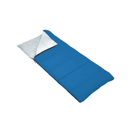key features Outbound Compact Lightweight Camping Sleeping Bag: 35 Degree - Blue
