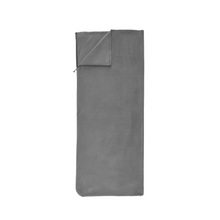 Load image into Gallery viewer, Outbound Lightweight Fleece Sleeping Bag Liner - Gray