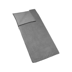 Outbound Compact Lightweight Fleece Sleeping Bag Liner - Gray