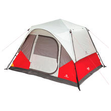 Load image into Gallery viewer, Outbound 6-Person 3-Season Instant Pop-Up Cabin Tent with Carry Bag and Rainfly - Red