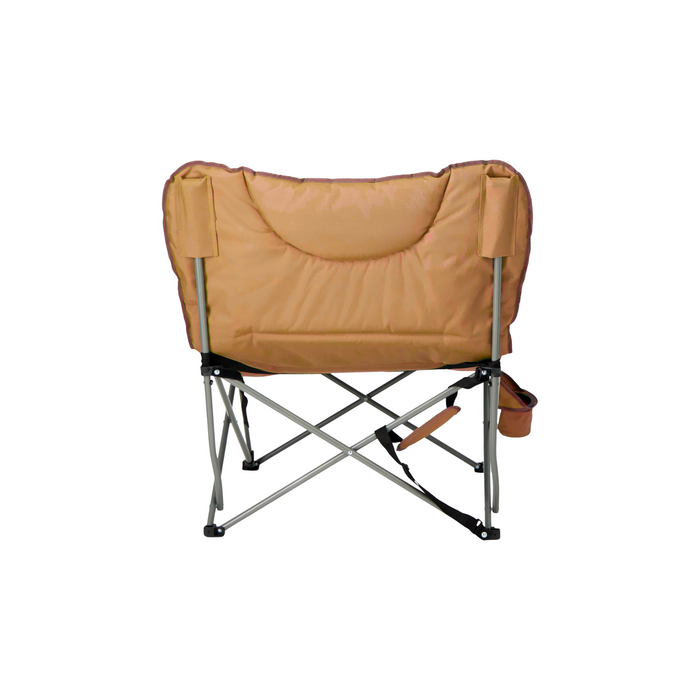 Woods Mammoth Folding Padded Camping Chair - Dijon