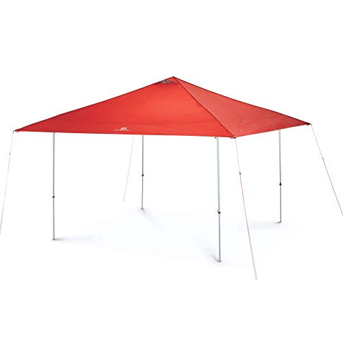 Outbound Straight Leg Canopy Tent Instant Pop-Up Shelter with Carry Bag: 10' x 10'- Red