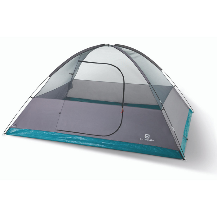Outbound Cache 8-Person 3-Season Black-Out Dome Tent with Carry Bag and Rainfly INSIDE
