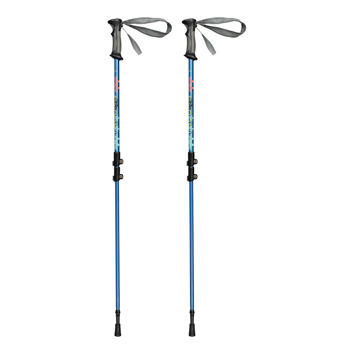 Outbound  Lightweight Aluminum Frame Snowshoe Bundle, 25 Inch, 160 lb Capacity, with Adjustable Poles and Carry Bag