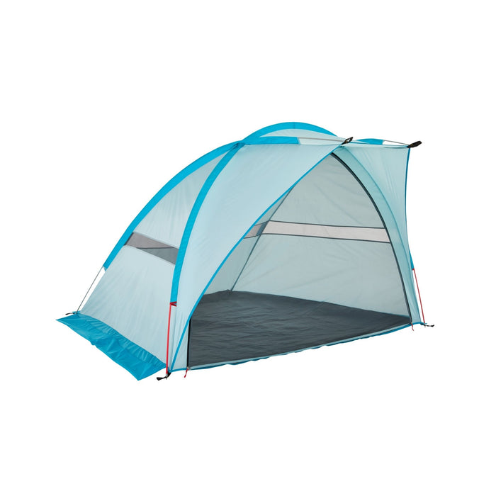 Outbound Oasis 2-Person Beach Tent & Sun Shade Shelter with Carrying Case - Blue