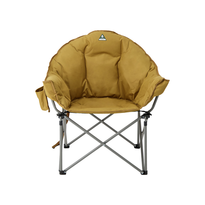 Woods Strathcona Fully Padded Folding Camping Bucket Chair - Dijon