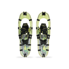 Load image into Gallery viewer, Woods Balsam All-Terrain Lightweight Aluminum Frame Snowshoes with Heel Lift 25 Inch, 200 lb Capacity, with Carry Bag
