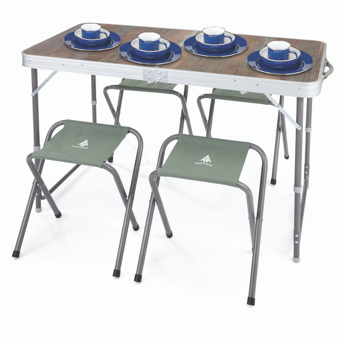 Woods Camp Table Set