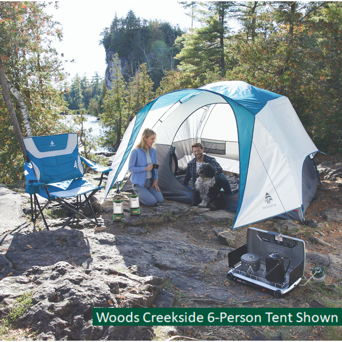 Woods Creekside 4-Person 3-Season Tent