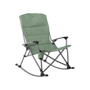 Woods Kaslo Folding Camping Rocker Chair - Sea Spray