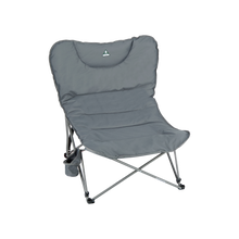 Load image into Gallery viewer, Woods Mammoth Folding Padded Camping Chair - Gun Metal