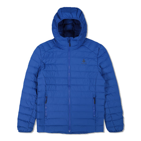 key features Woods Men's Bennington Water-Resistant Down-Insulated Hooded Puffer Jacket - Blue