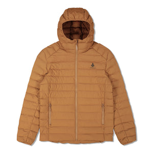 Woods Men's Bennington Water-Resistant Down-Insulated Hooded Puffer Jacket - Dijon