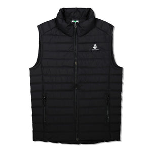 Woods Men's Bennington Water-Resistant Down-Insulated Puffer Vest - Black