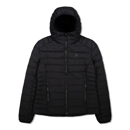 key features Woods Women's Bennington Water-Resistant Down-Insulated Hooded Puffer Jacket - Black