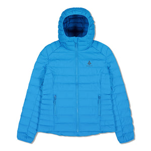 Woods Women's Bennington Water-Resistant Down-Insulated Hooded Puffer Jacket - Blue