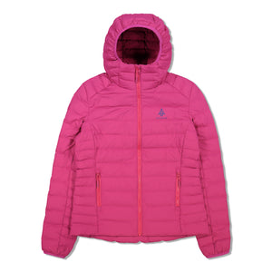Woods Women's Bennington Water-Resistant Down-Insulated Hooded Puffer Jacket - Fuchsia