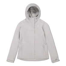 Load image into Gallery viewer, Woods Women's Toba Water-Resistant 2-Layer Shell Hooded Rain Jacket - Ivory