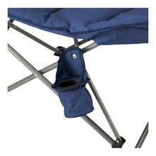 Load image into Gallery viewer, Woods Mammoth Folding Padded Camping Chair - Navy