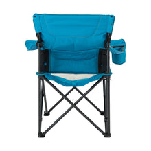Load image into Gallery viewer, Woods Full Back Comfort Deluxe Lumbar Folding Camping Chair - Blue